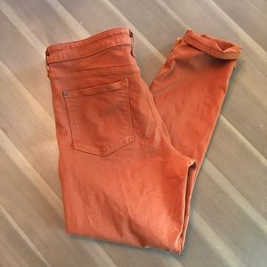 Anthro- Pilcro and the letterpress jeans size 32